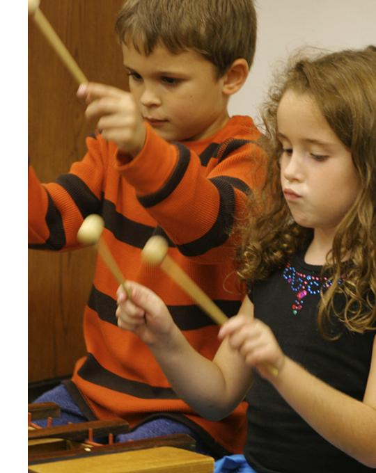 Hudební atelier pro děti