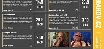 Program KD Krakov září - říjen