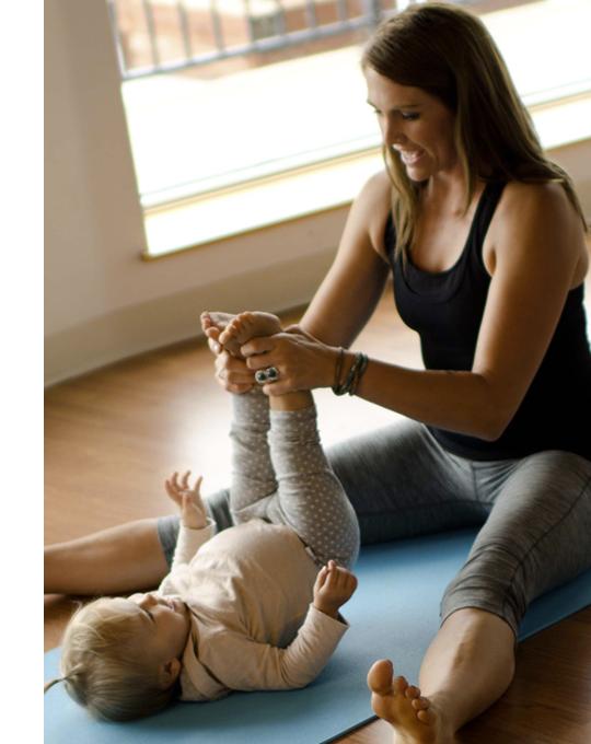 Jóga pro maminky s miminky