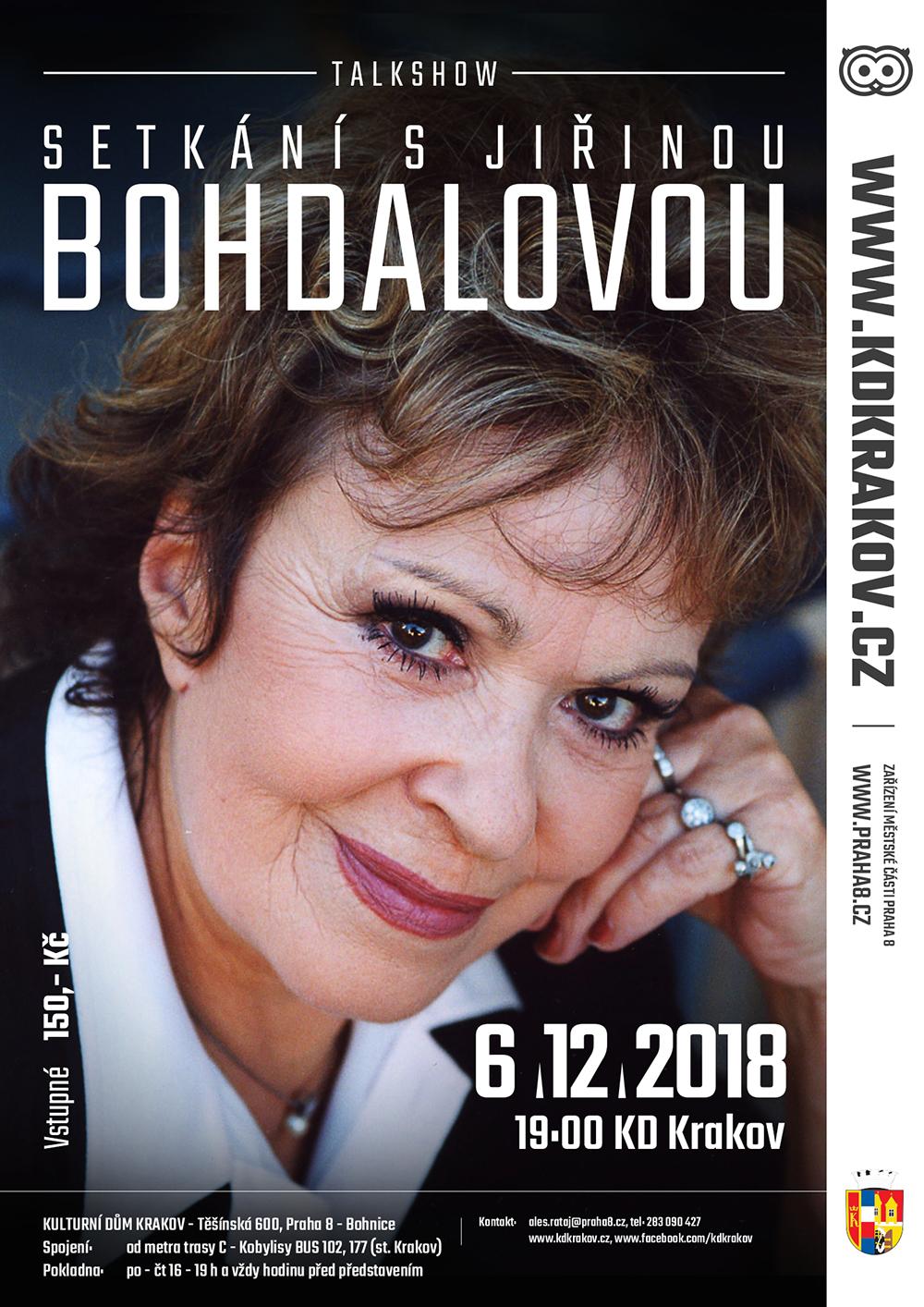 Setkani s Jirinou Bohdalovou
